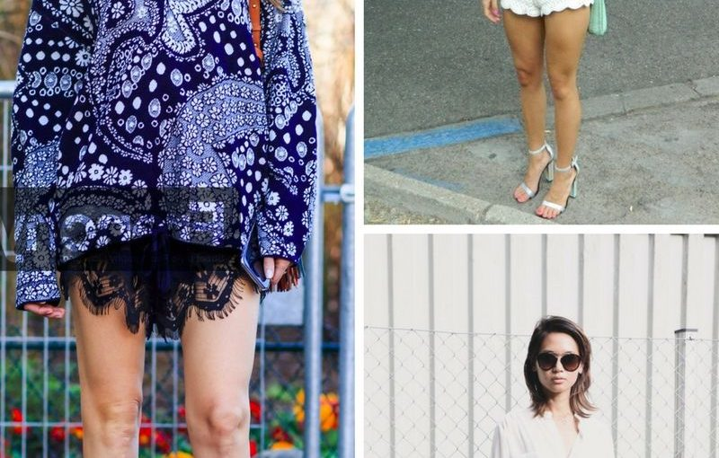 Lace Shorts 2018 Street Style Looks (3)