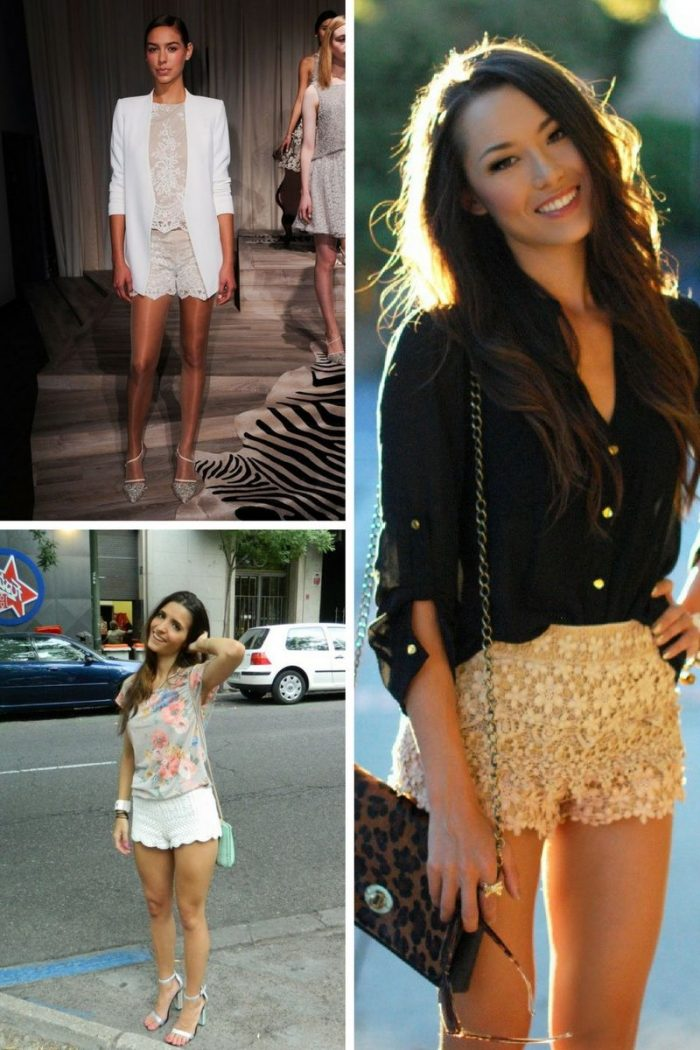 Lace Shorts Summer Must Haves 2019