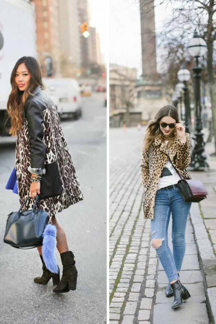 Women's Animal Print Coats 2019