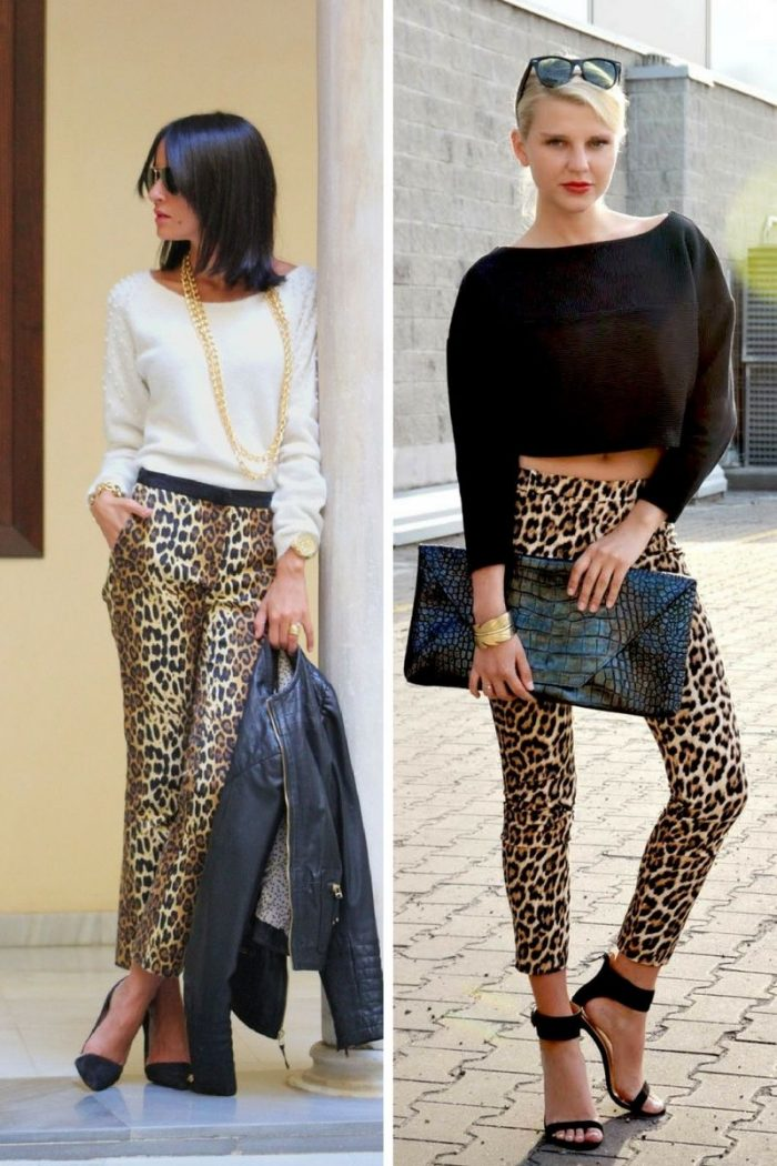 Leopard Print Pants For Women 2018 (1)