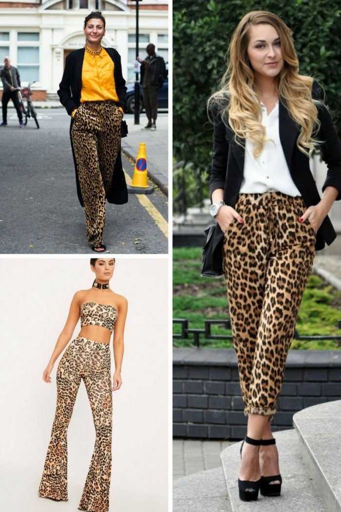 Leopard Print Pants For Women 2018 (2)