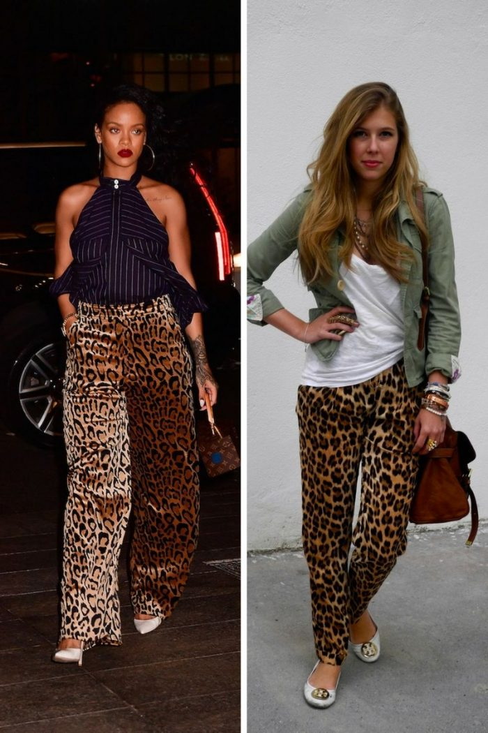 c1c6a46f9713 Leopard Print Pants Inspirational Street Style 2019 - StyleFavourite.com