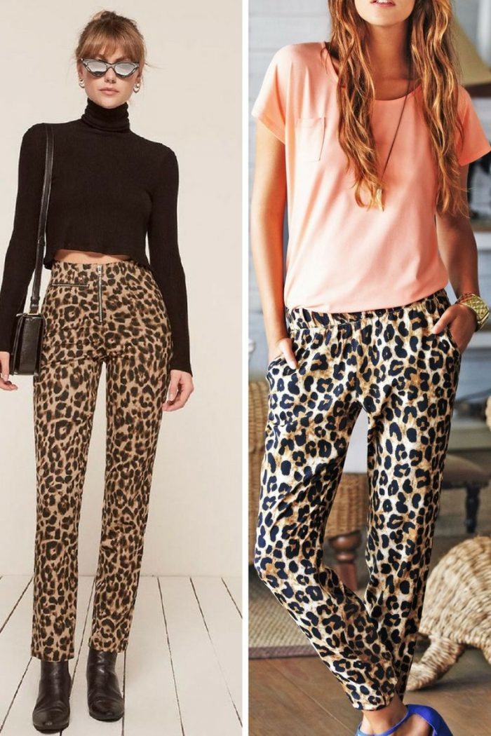 Leopard Print Pants 2018 Inspirational Street Style ...