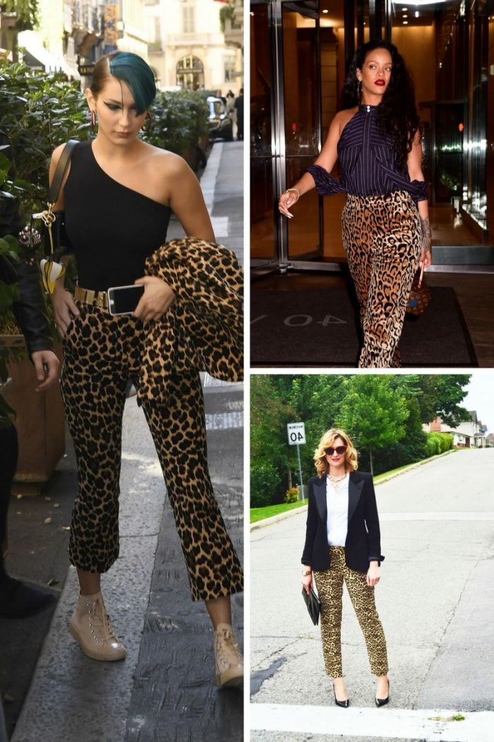Leopard Print Pants Inspirational Street Style 2019