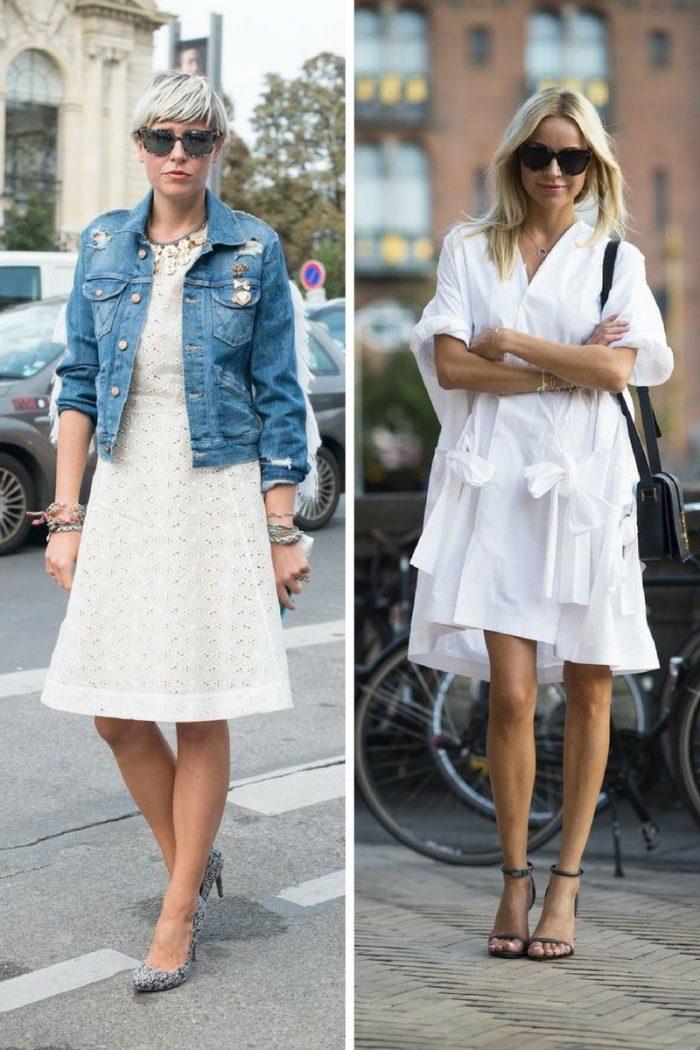 Little White Dress For Summer Simple Street Looks 2020