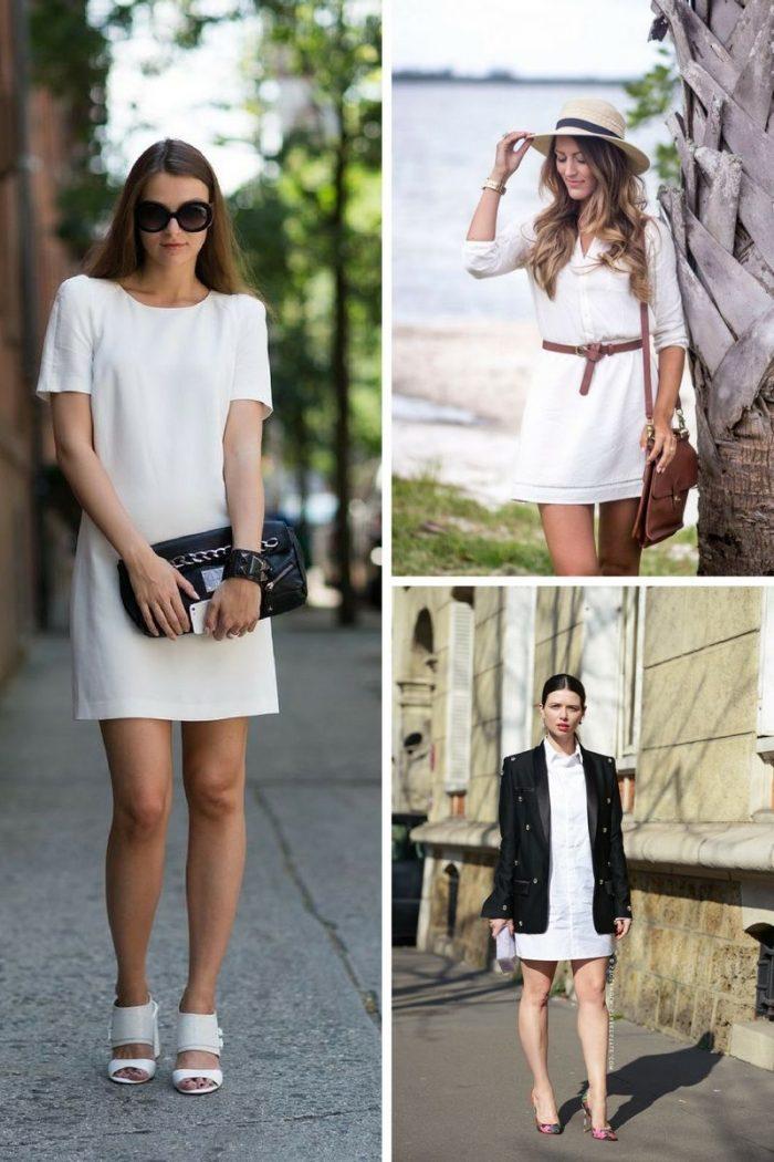 Little White Dress For Summer Simple Street Looks 2019