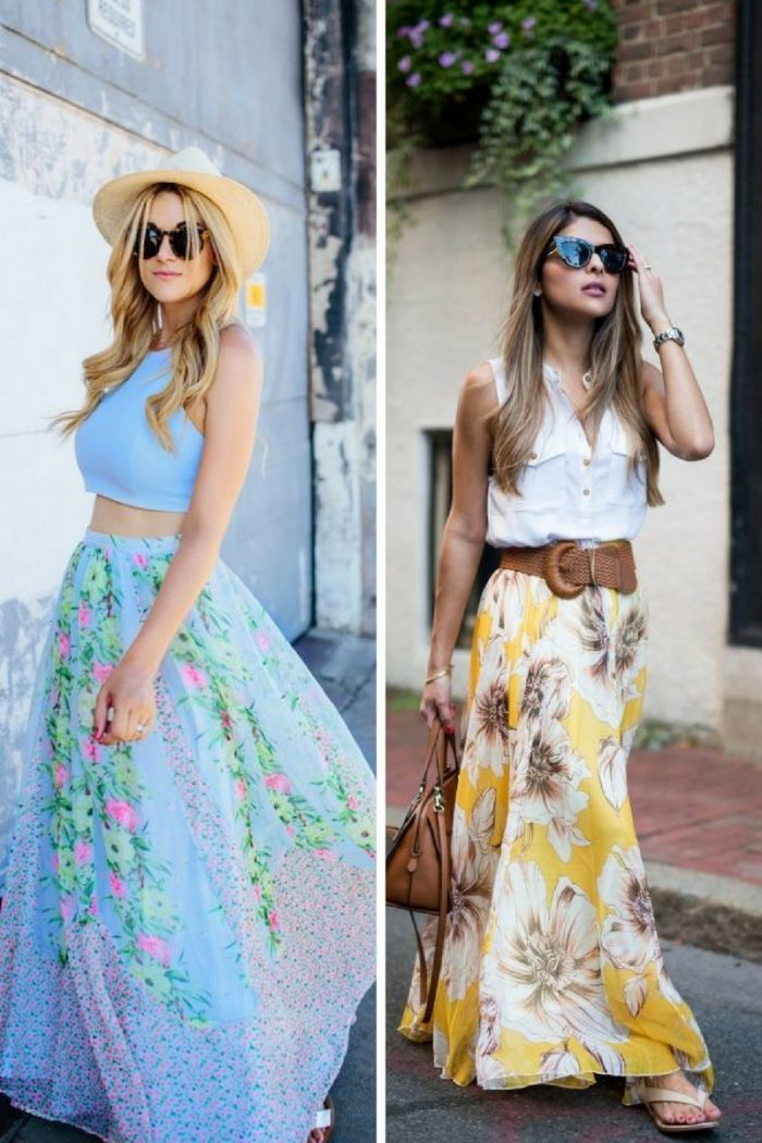 Maxi Skirts For Summer 2018 (1)