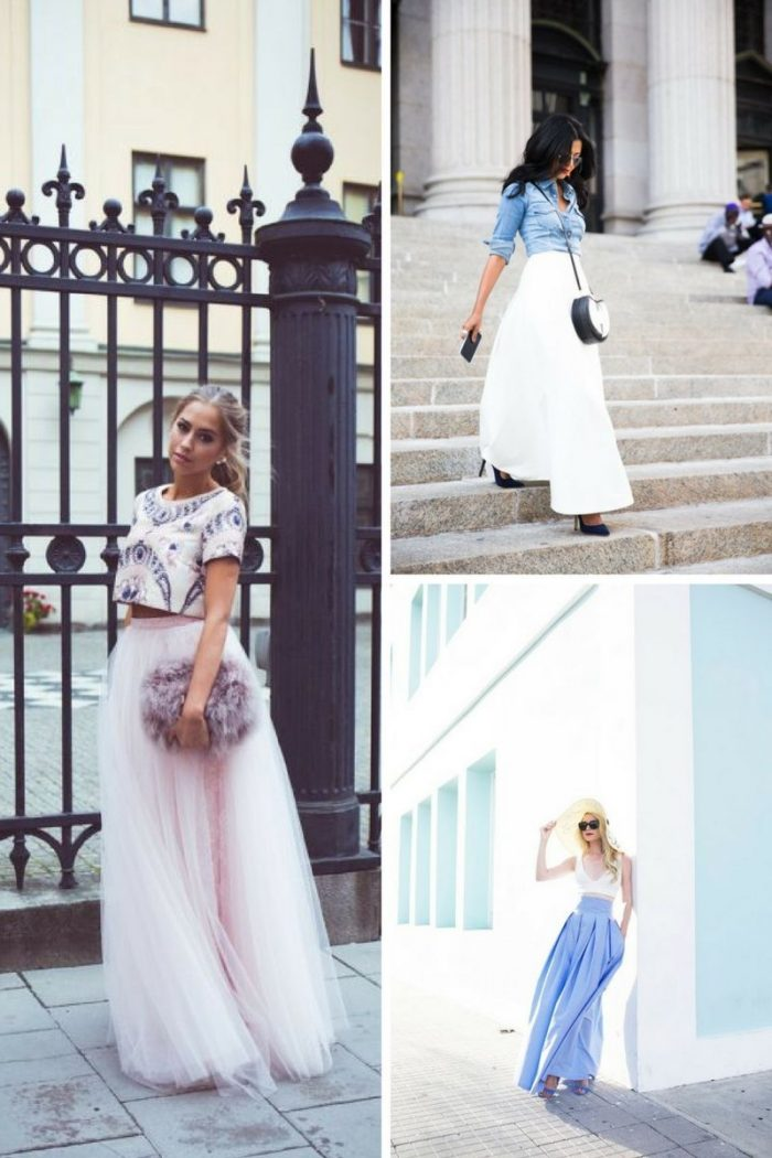 Maxi Skirts For Summer 2019