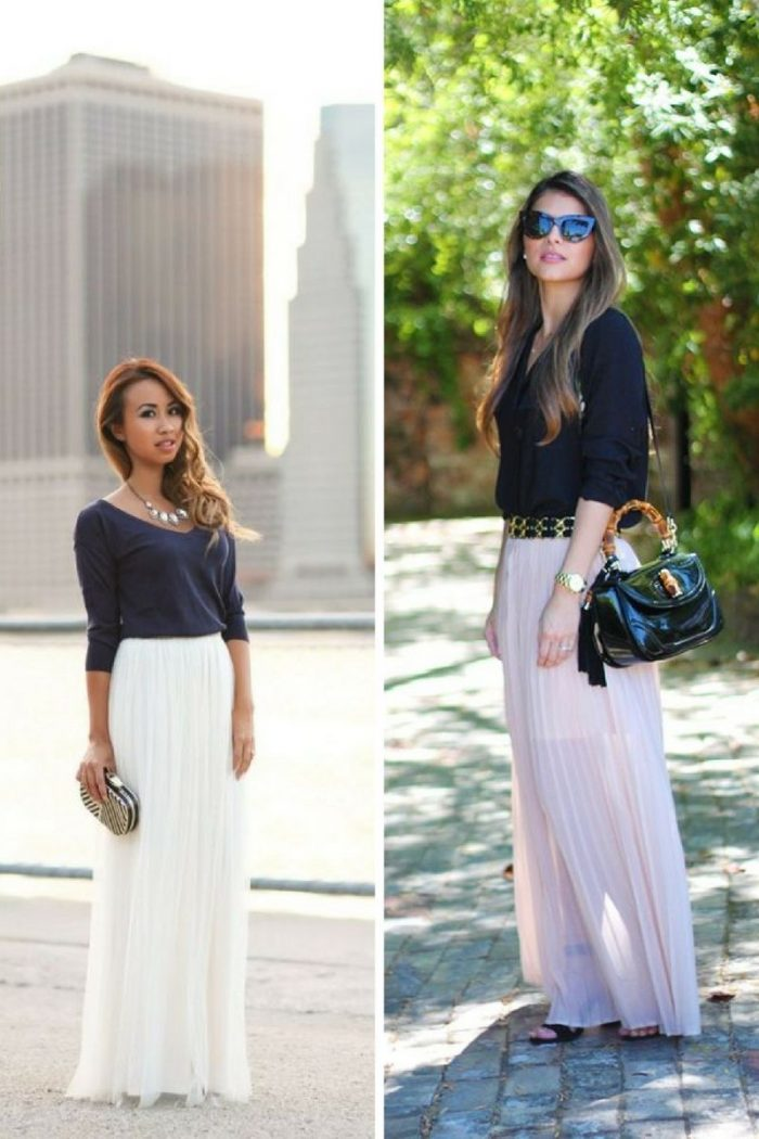 61bc739fd6 Maxi Skirts For Summer 2019 - StyleFavourite.com