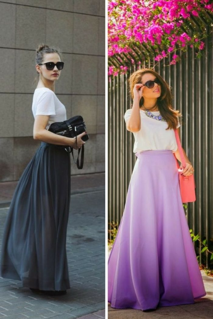 Maxi Skirts For Summer 2018 (6)