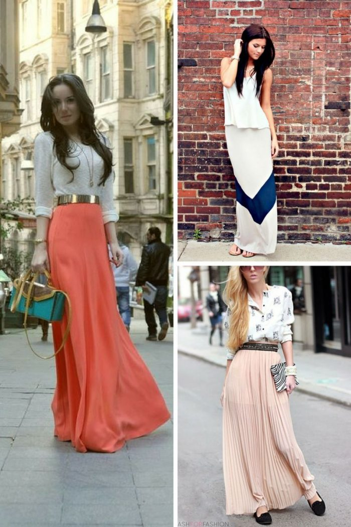Maxi Skirts Worth Wearing From Day To Night 2019