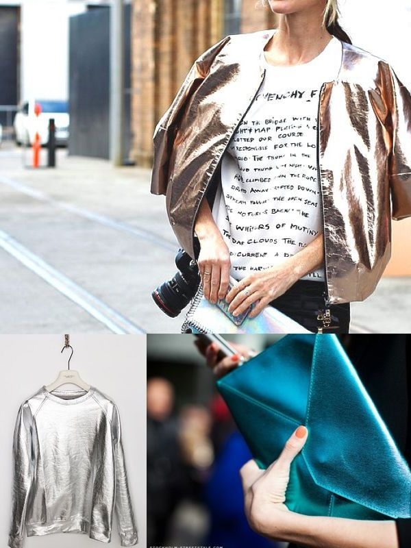 Metallic Clothes And Accessories Trend 2018 (16)