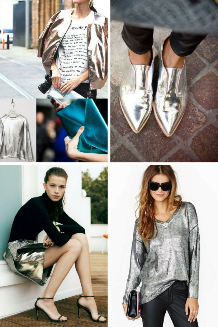 Metallic Clothes And Accessories Trend 2018 (7)