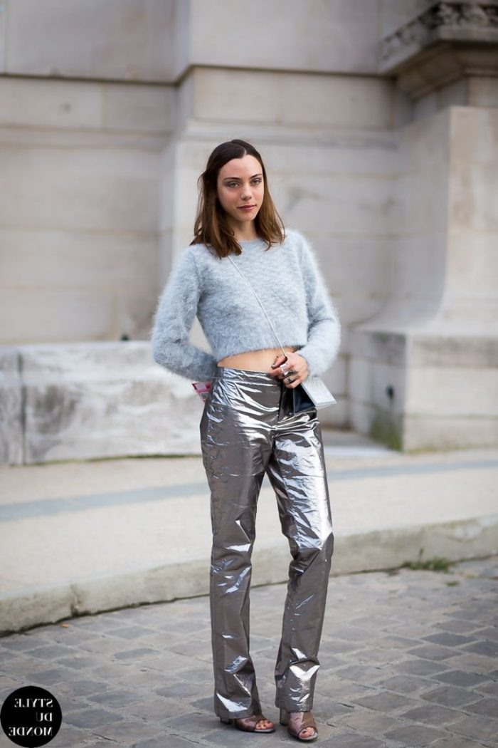 Metallic Clothes And Accessories For Street Walks 2019