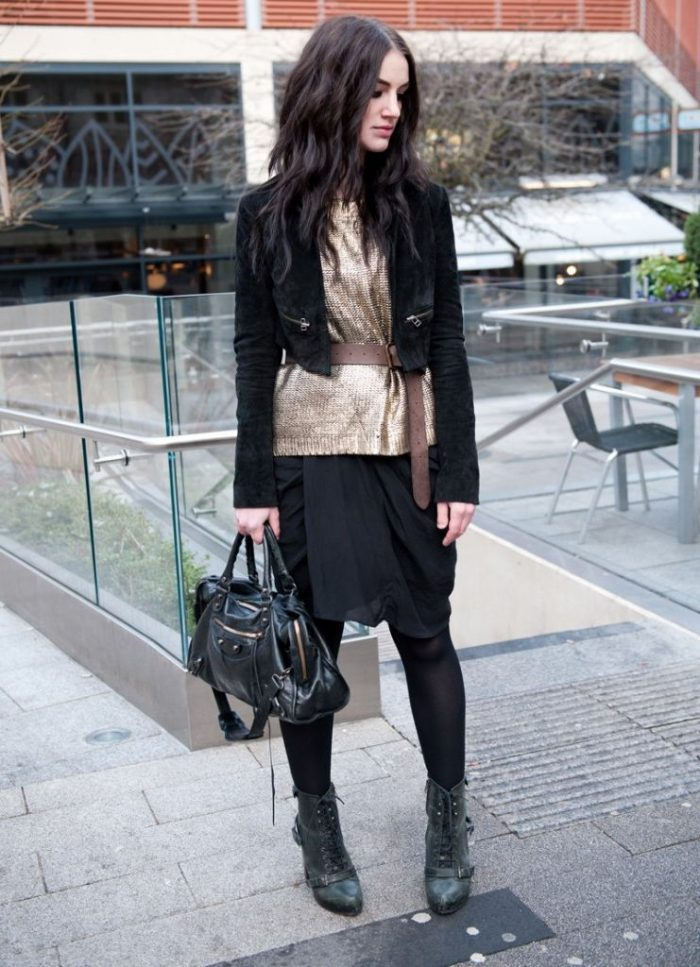 Metallic Clothes And Accessories For Street Walks 2020