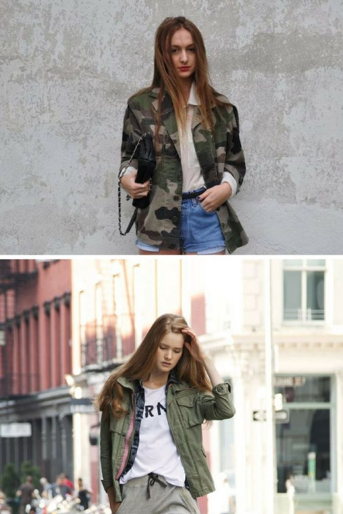 Military Jackets and Coats For Women 2019