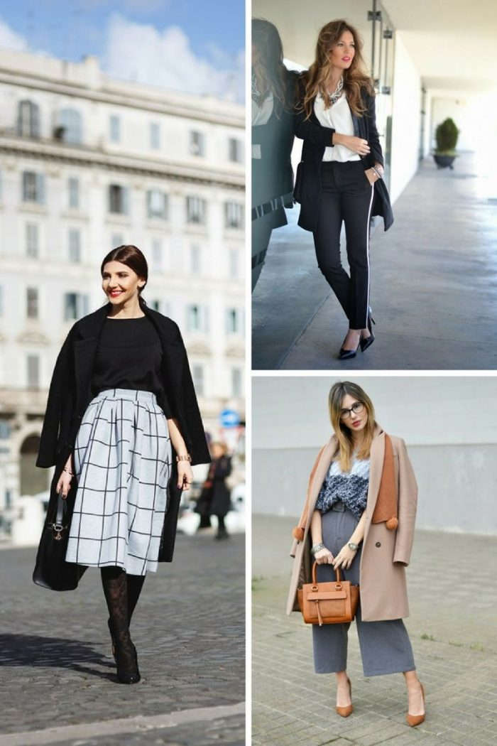 Office Wardrobe Essentials For Women Winter 2018 (2)