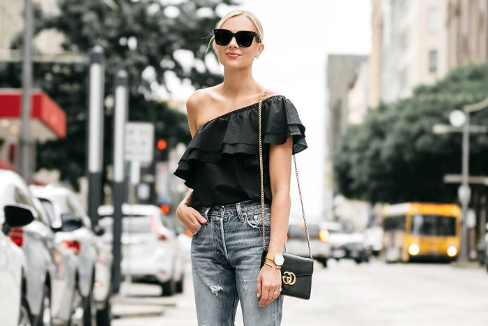 One Shoulder Tops and Dresses 2019