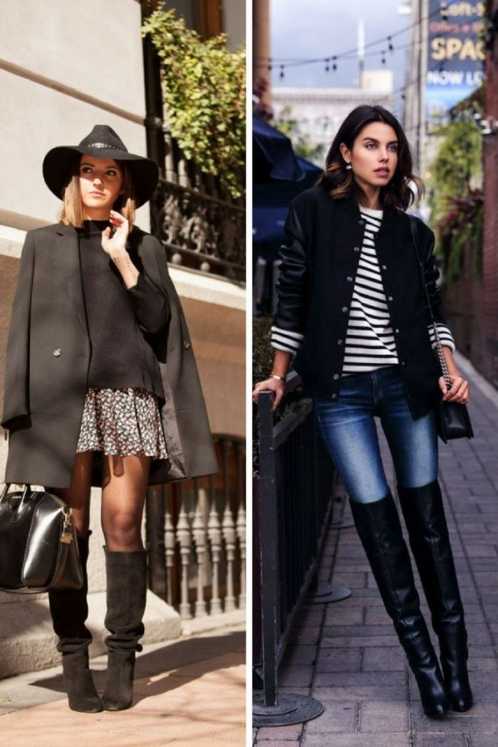 Over The Knee Boots 2018 Trendy Ideas To Wear Them Now (4)