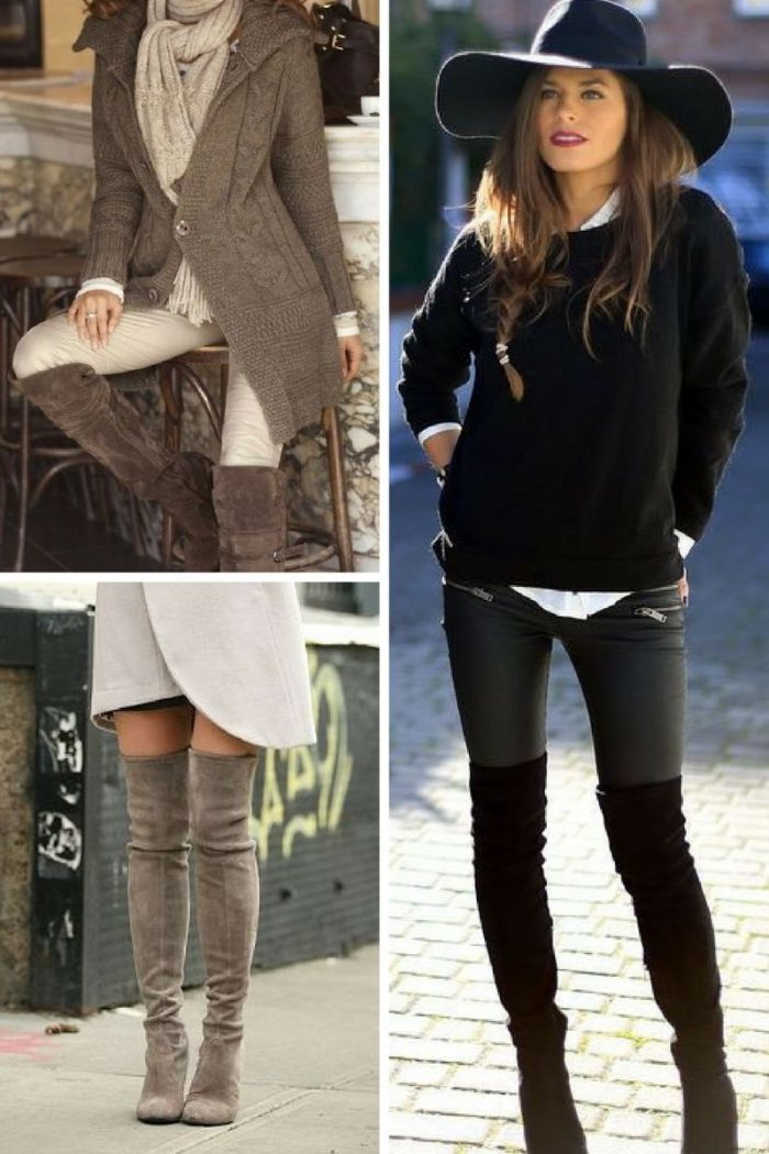 7ab7c1eeefb Over the Knee Boots For Women 2019 - StyleFavourite.com