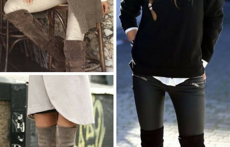 Over The Knee Boots For Women 2018 (11)