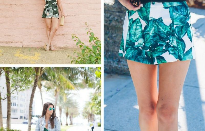 Palm Print Fashion Trend For Women 2018 (5)