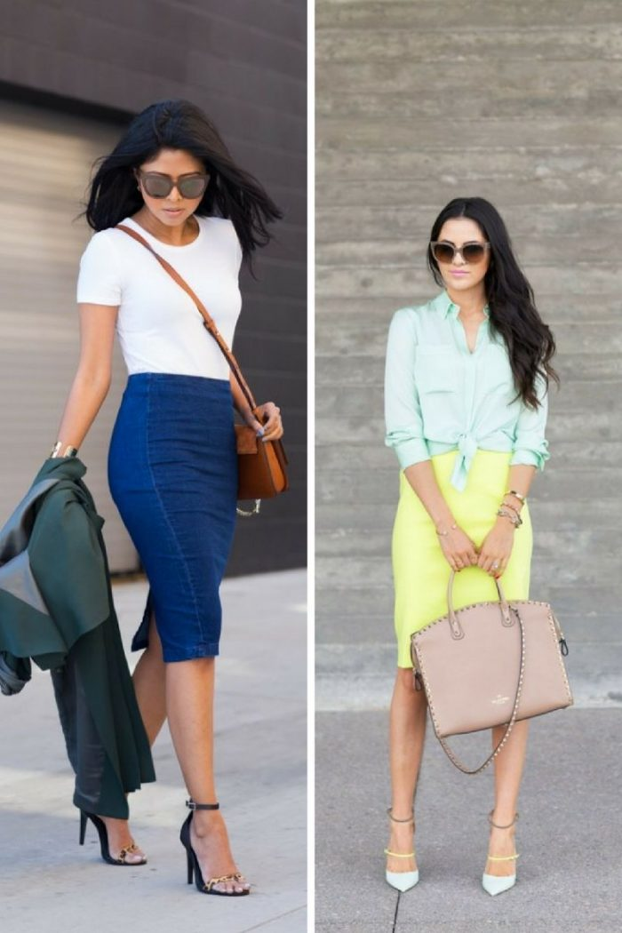 Pencil Skirts 2018 Street Looks (7)