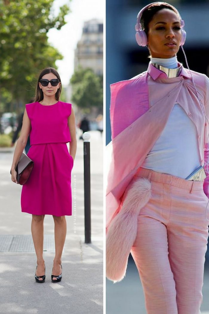 Pink Fashion Trend For Women 2018 (1)