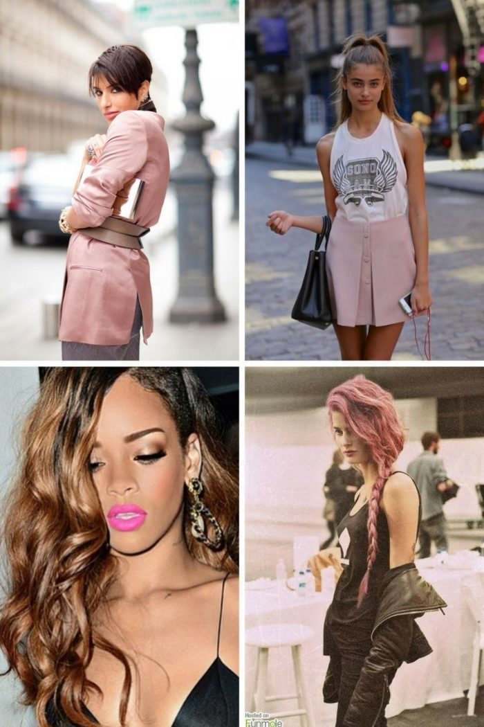 Pink Fashion Trend For Women 2018 (5)