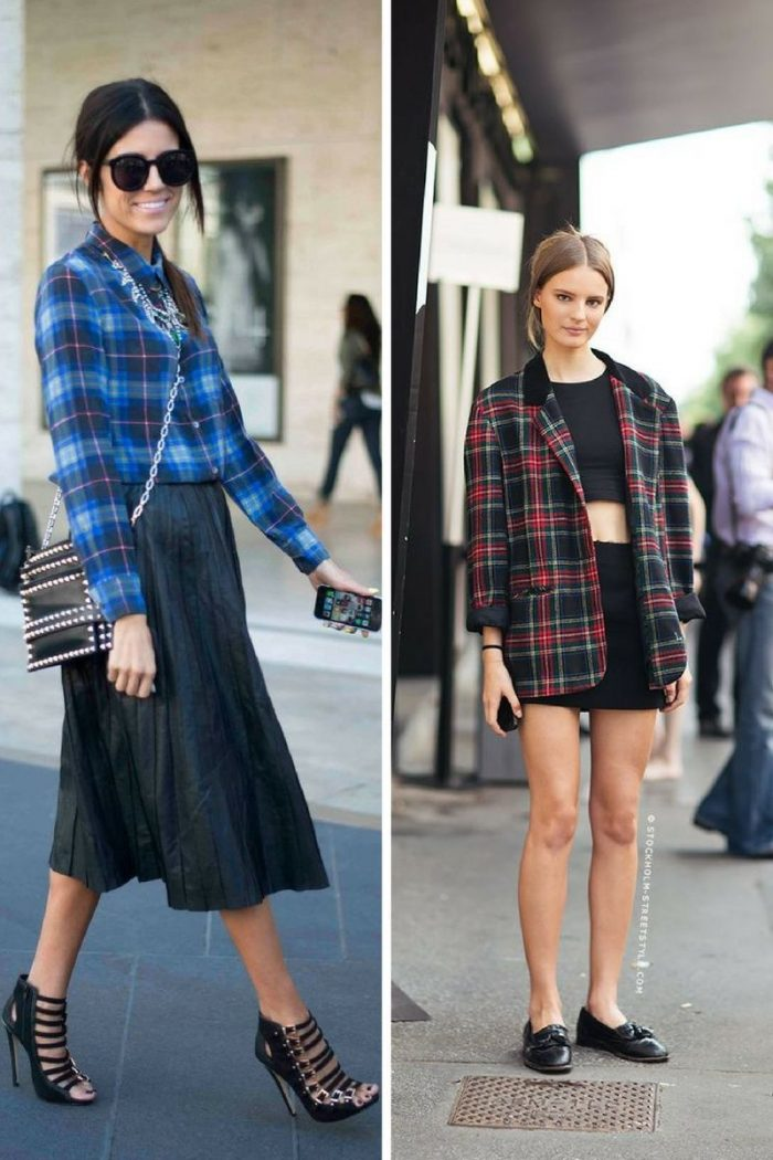 Plaid And Tartan Attire For Women 2018 (1)
