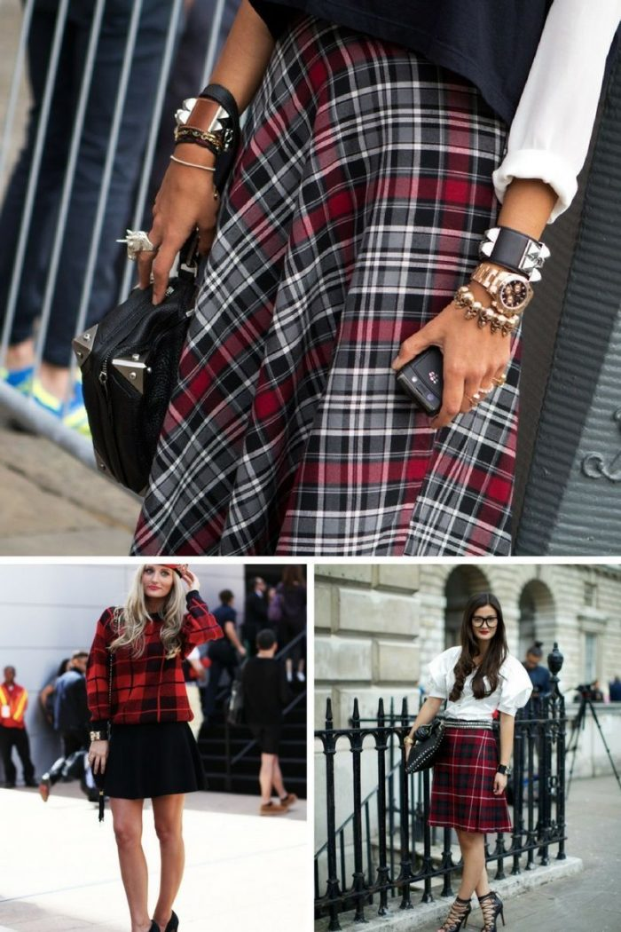 Plaid And Tartan Attire For Women 2018 (12)