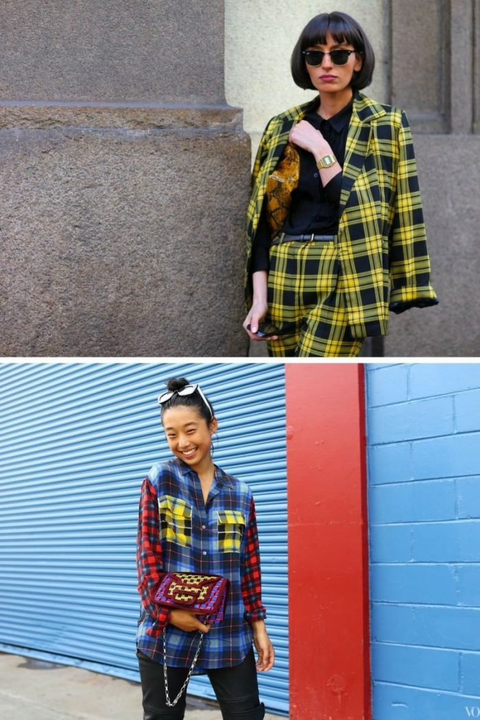 Plaid And Tartan Attire For Women 2018 (13)