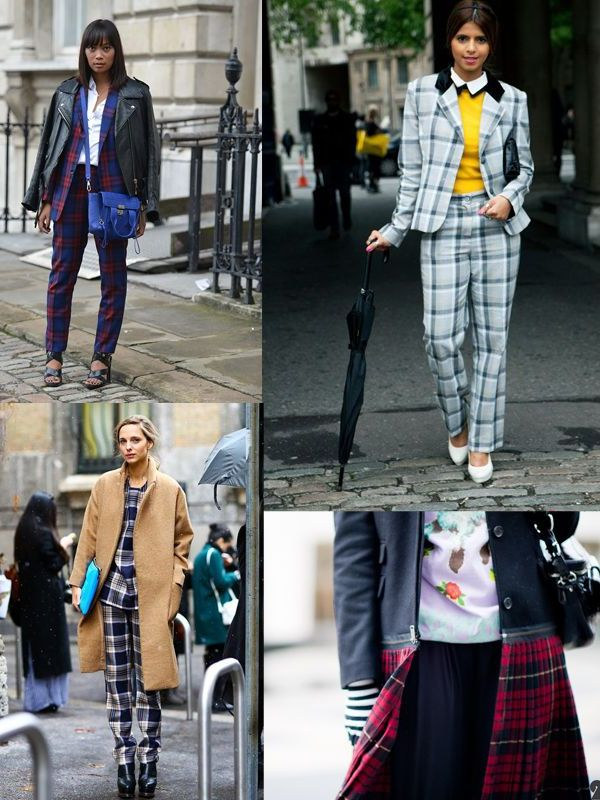 Plaid And Tartan Attire For Women 2018 (14)