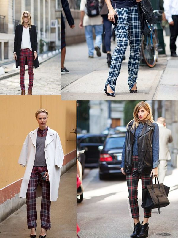 Plaid And Tartan Attire For Women 2018 (16)