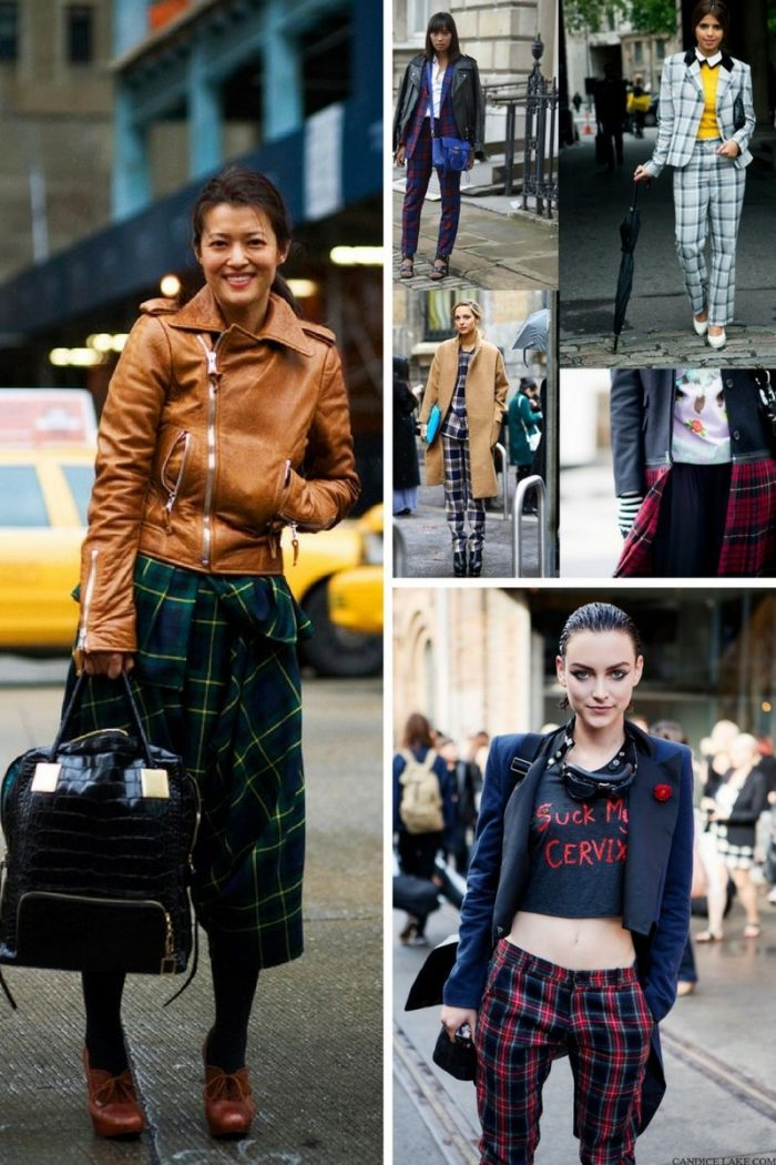 Plaid And Tartan Attire For Women 2018 (2)