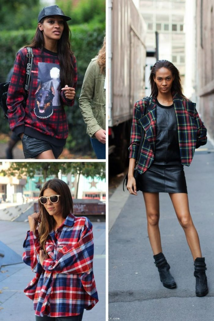 Plaid And Tartan Attire For Women 2018 (3)