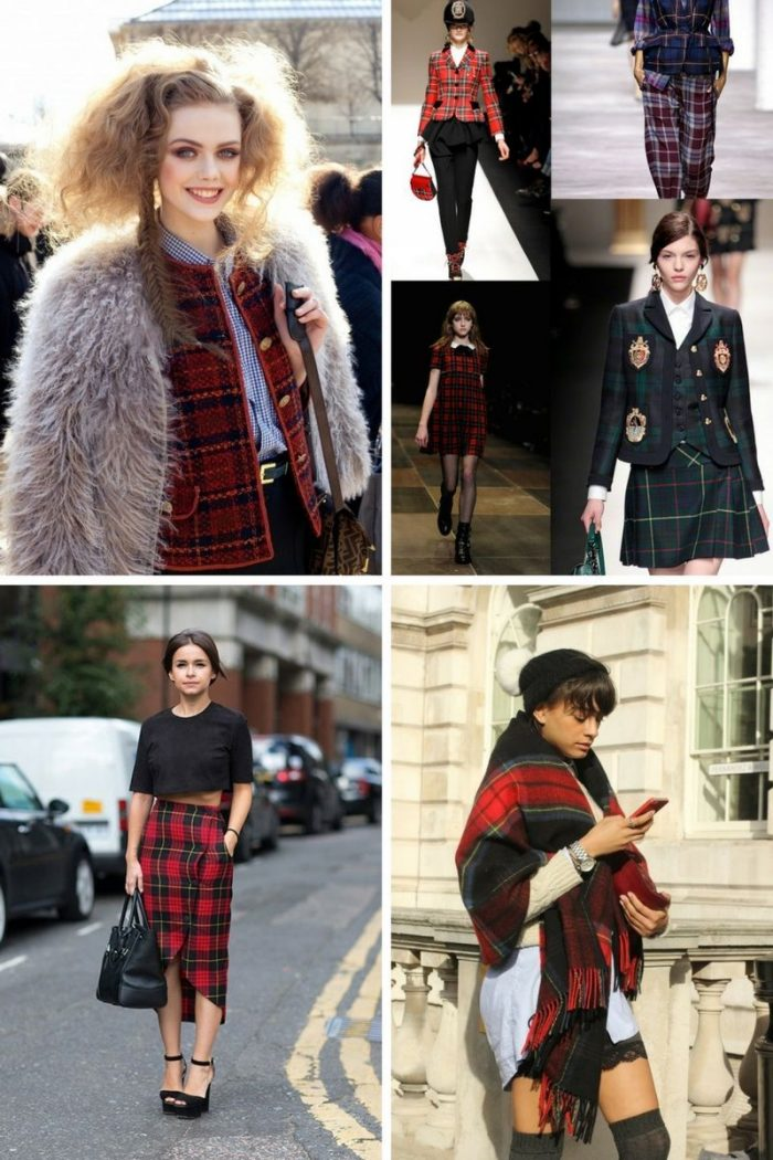 Plaid And Tartan Attire For Women 2018 (4)