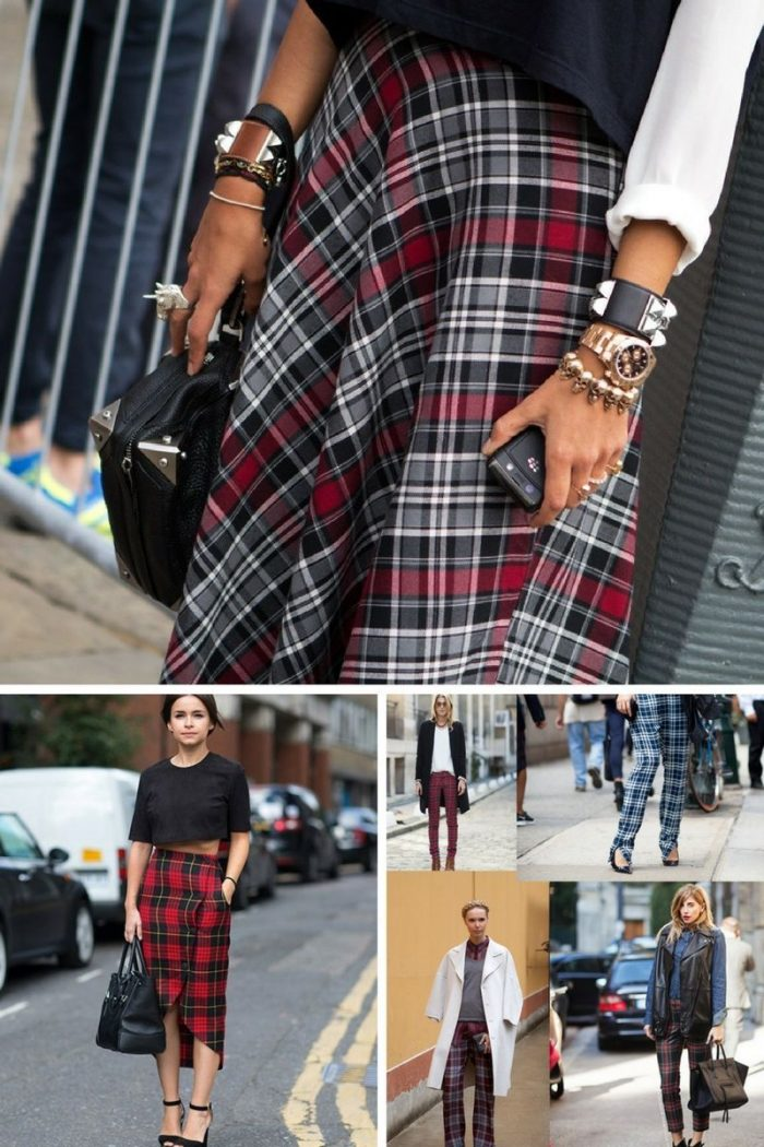 Plaid And Tartan Attire For Women 2018 (5)