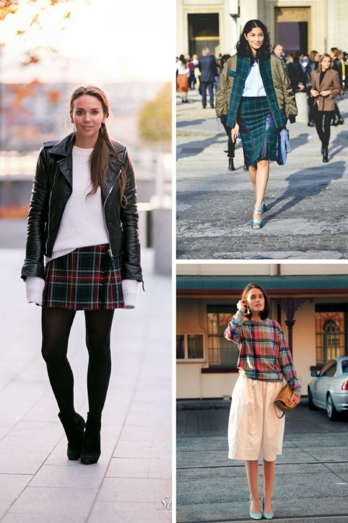 Plaid And Tartan Attire For Women 2018 (7)