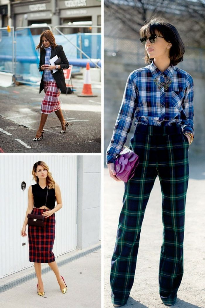 Plaid And Tartan Attire For Women 2018 (8)