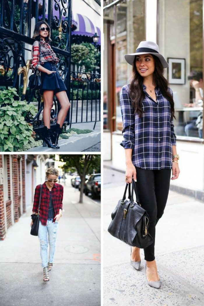 Plaid Shirts For Women 2018 (6)