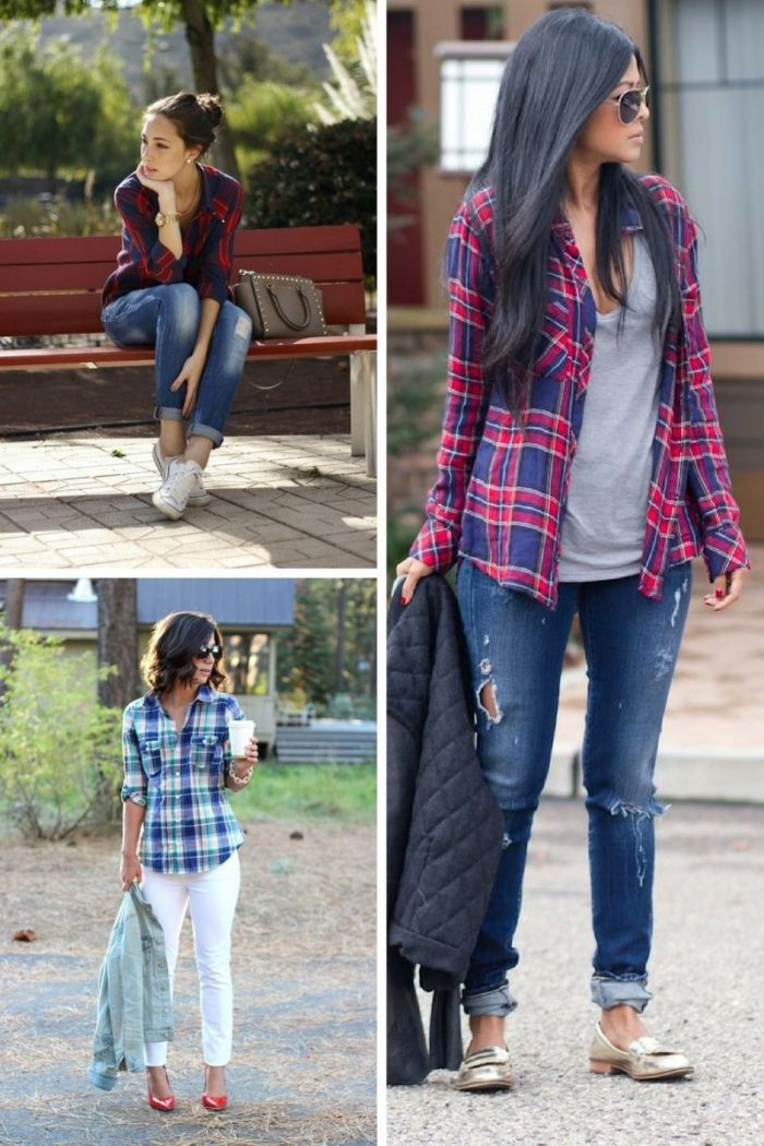 Plaid Shirts For Women To Try This Winter 2019