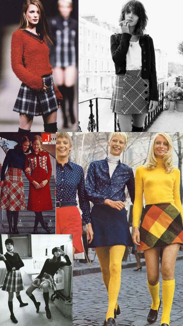 d26d22bcb04 How To Create Fabulous Looks With Plaid Skirts 2019 - StyleFavourite.com