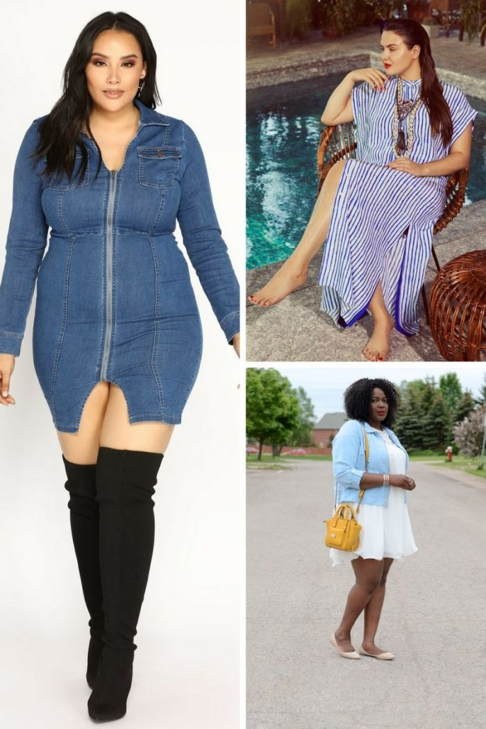 Stunning Plus Size Dresses For Spring-Summer 2020