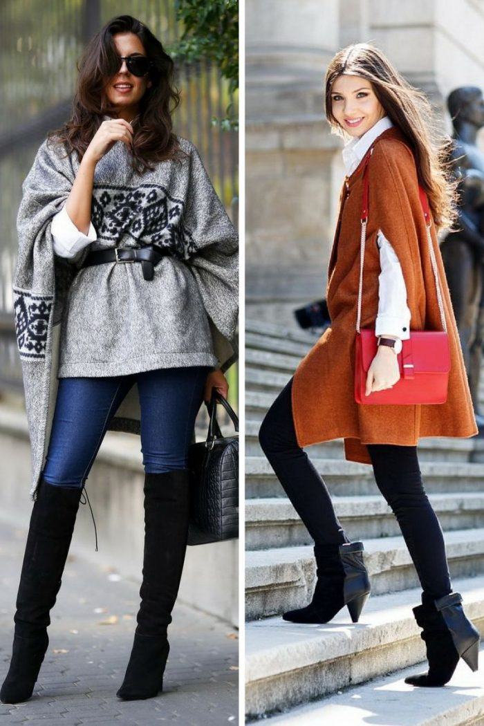Ponchos For Women Winter 2018 (12)