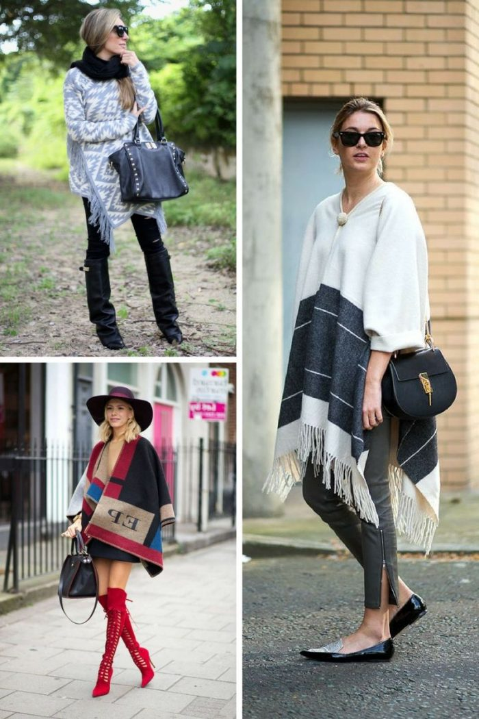 Ponchos For Women Winter 2018 (2)