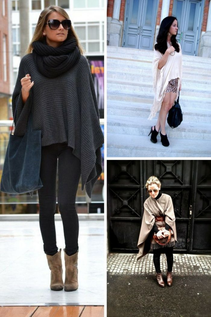 Ponchos For Women Winter 2018 (3)