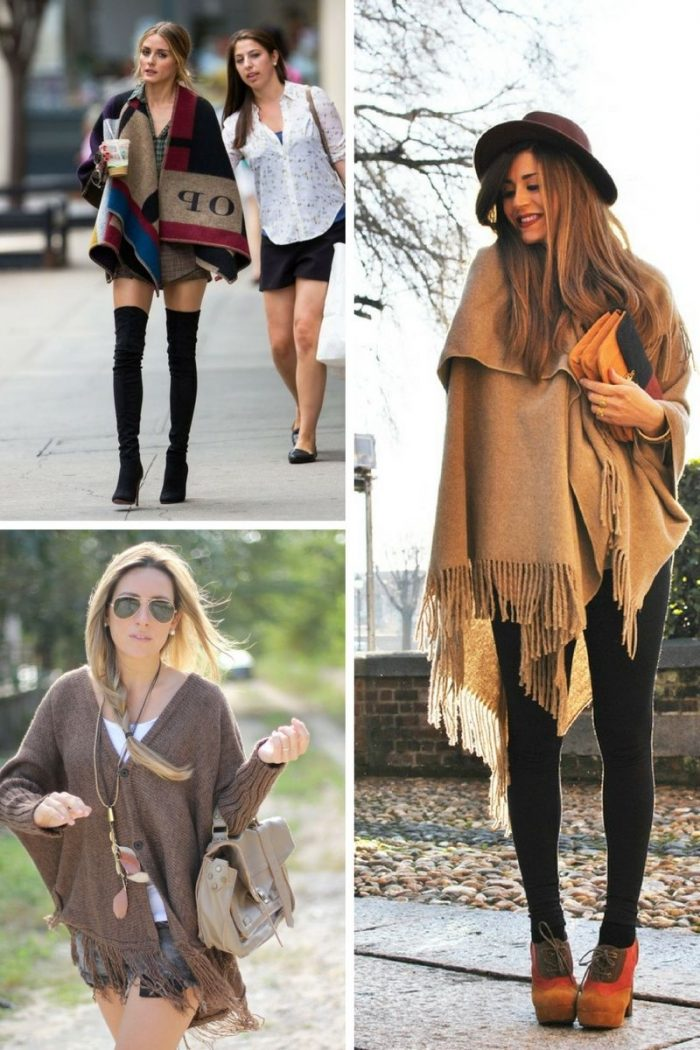 Ponchos For Women Winter 2018 (5)