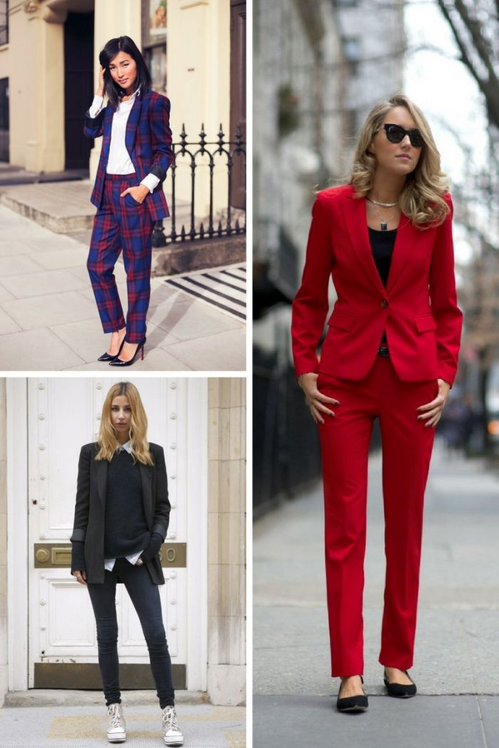 Power Pantsuits Are Back In Fashion 2021 Stylefavourite Com
