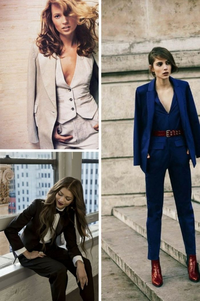 Power Pantsuits are back in fashion 2019